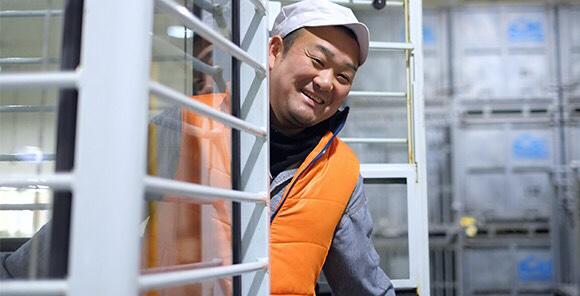 笑顔で現場を暖める 製造部/庄子哲洋